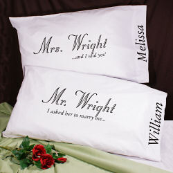 Mr and Mrs _____ Pillows