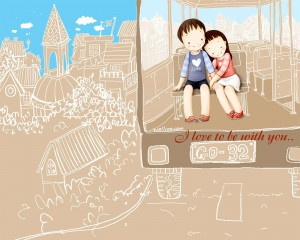 I Love to be with you..