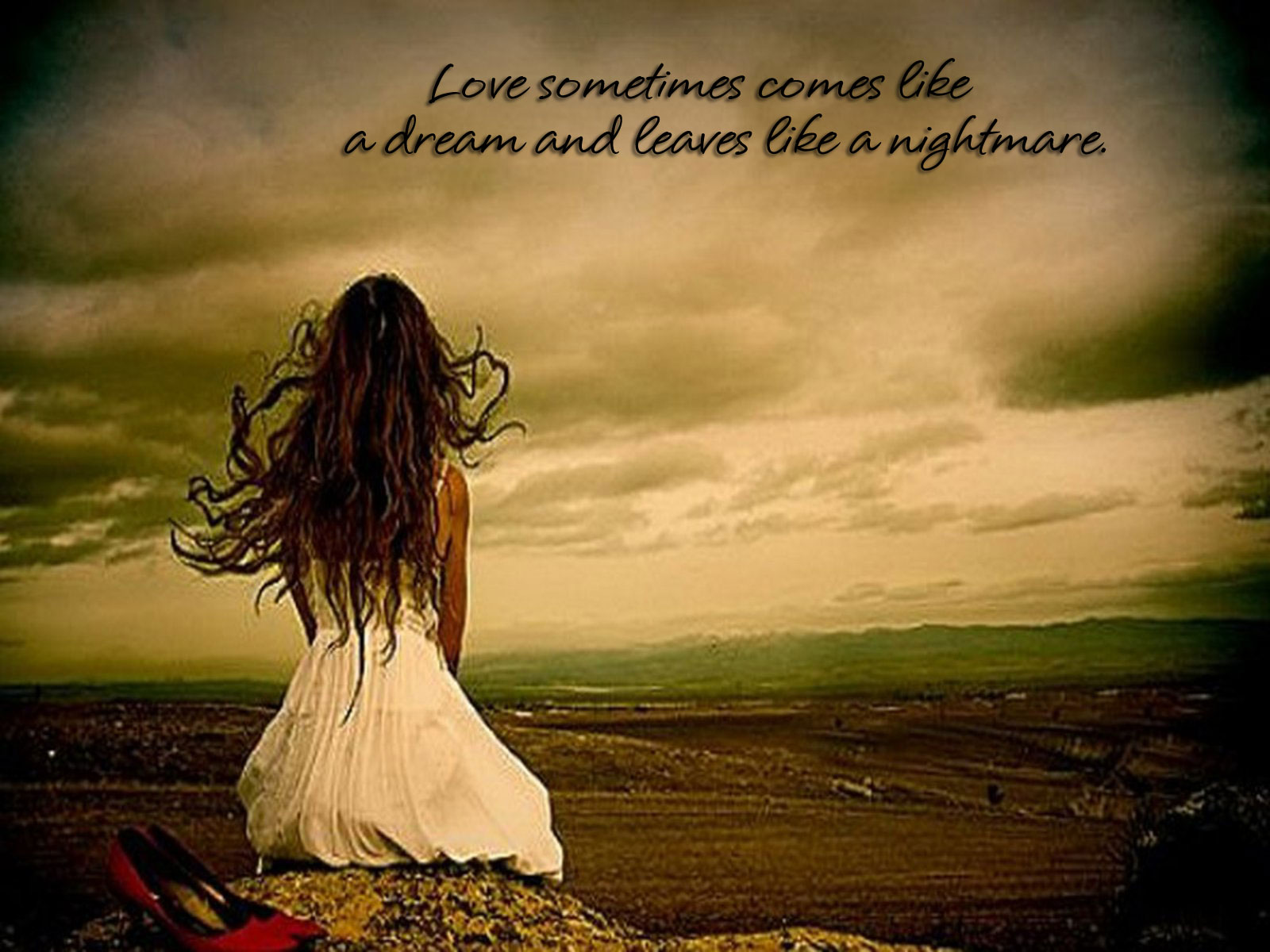 Love sometimes comes like a dream