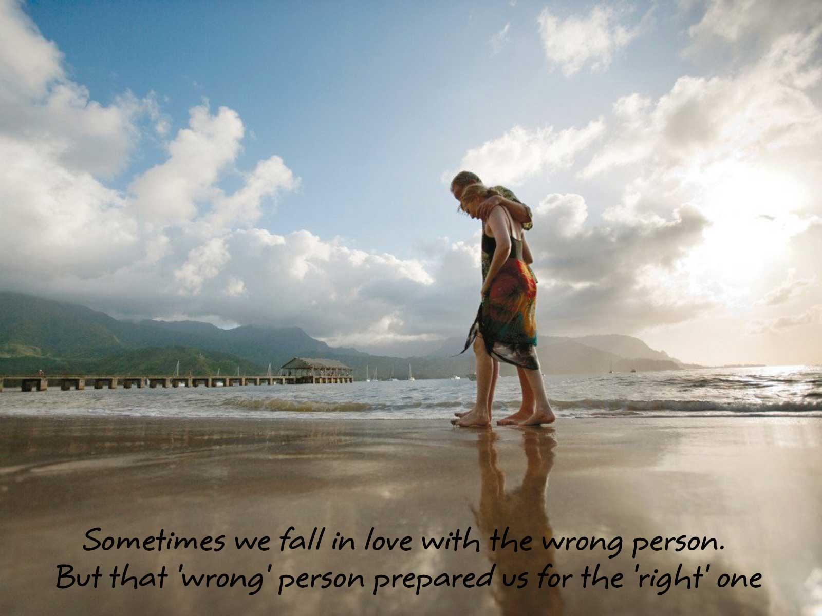 Falling in love with the right person at the wrong time quotes