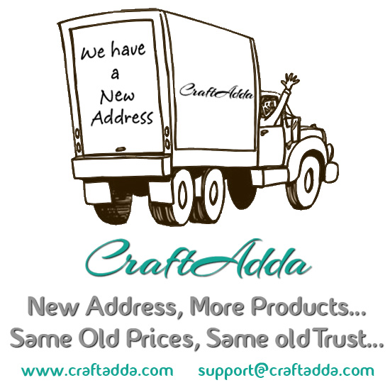 We have moved to CraftAdda.com