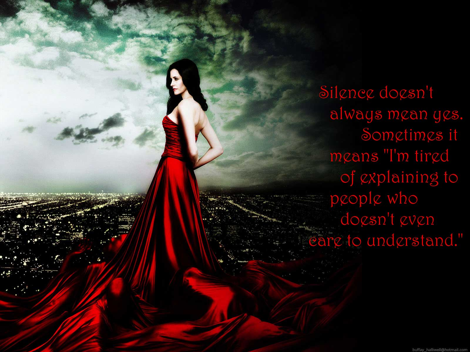 Silence Doesn't Always Mean Yes » Quotes » Its Me : Khyati