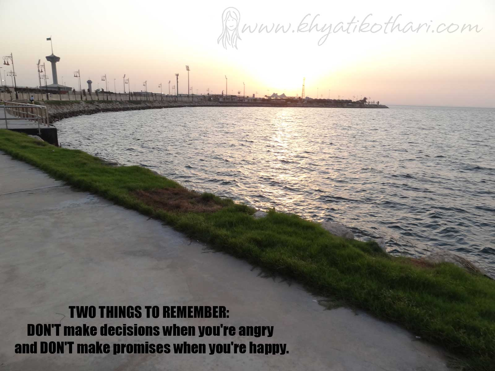 TWO THINGS TO REMEMBER