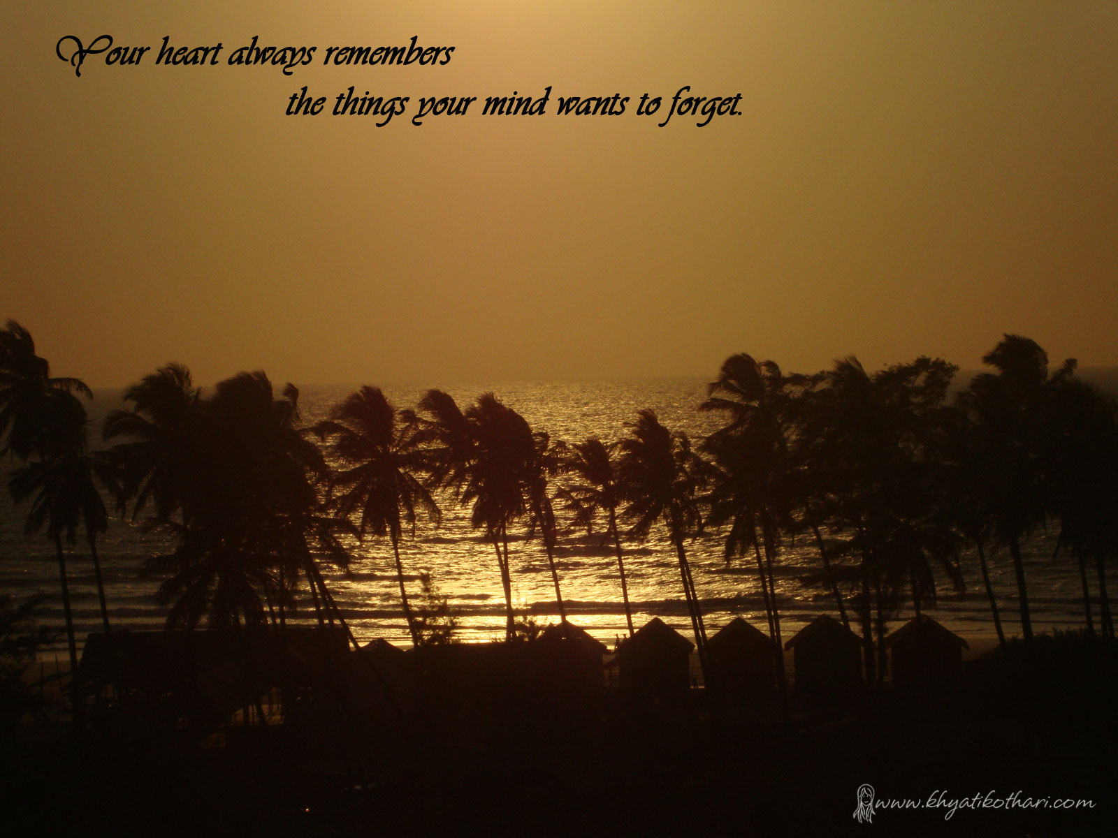 Your heart always remembers