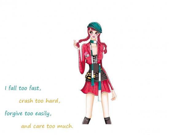 I fall too fast